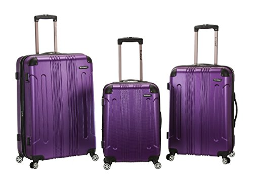 Rockland 3 Piece Sonic Abs Upright Set, Purple, One Size