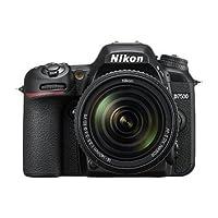 Nikon D7500 Camera (Black) with AF-S VR Nikkor 18-105mm VR Lens Kit, 16GB Class 10 SD Card and Carry Case