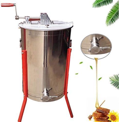 手動蜂蜜抽出器ステンレス鋼回転遠心分離技術養蜂装置