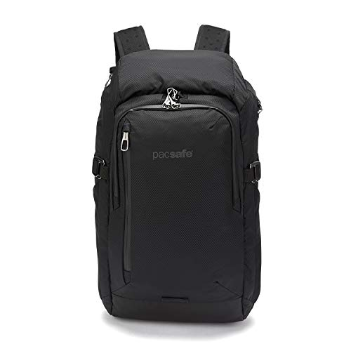 PacSafe Venturesafe X30-30L Anti-Theft Outdoor/Adventure-Ergonomic Design Hiking Backpack, Black, One Size