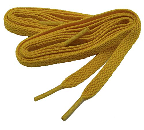 Bulk pack Teamlaces(tm) Shoelaces 24 Pair Pack proATHLETIC(tm) Pimp your team with matching Teamlaces(tm) (63 Inch 160 cm, Yellow Gold) from GREATLACES