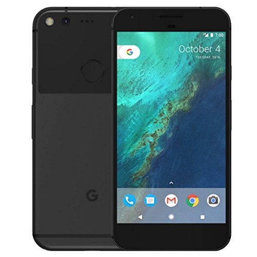 "PIXEL Phone by Google 32GB - 5"" inch - Factory Unlocked 4G/LTE Smartphone (Black) - International Version"