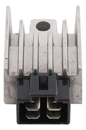 (New DB Electrical 230-58245 Voltage Regulator Rectifier for 49cc 12V Honda NU50 URBAN EXPRESS/RUNAWAY 82 83 1982 1983 SH515-12 705233 31600GC1-601 31600GC1-701)