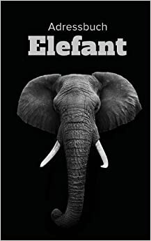 Book Adressbuch Elefant