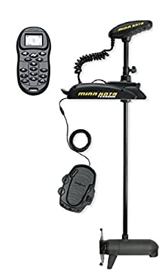 "Minn Kota Terrova 55 Bow-Mount Trolling Motor with Universal Sonar 2 and i-Pilot, Includes Foot Pedal (55-lb Thrust, 45"" Shaft)"