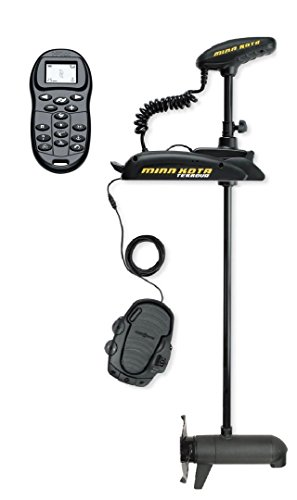 Minn Kota Terrova 55 Bow-Mount Trolling Motor with Universal Sonar 2 and i-Pilot, Includes Foot Pedal (55-lb Thrust, 54