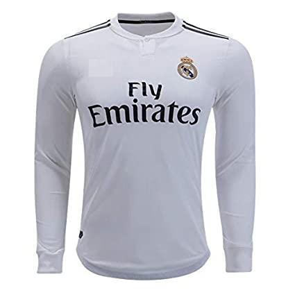 official photos df22a 52531 Buy Realmadrid Home Full Sleeve Jersey with Shorts 2018-2019 ...