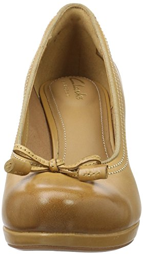 Marron Chorus Tan Lea 36 Escarpins Bombay light Clarks Femme Marron Eu fOTn4fxA