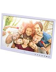 Liuxiaomiao Digitale fotoalbum 15 Inch Digitale fotolijst 1280 * 800 Pixels Hoge resolutie Smart Electronic Frame Auto Aan/Uit Timer Afstandsbediening inbegrepen