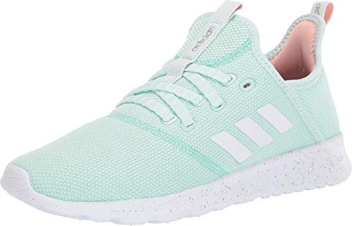 adidas Women's Cloudfoam Pure Ice Mint/Footwear White/Clear Mint 11 M US