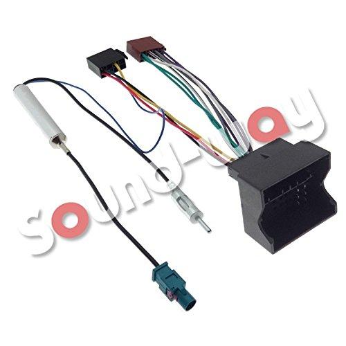 Adapteur fakra CABLE ADAPTATEUR ISO AUTORADIO PEUGEOT 207//307//407//1007