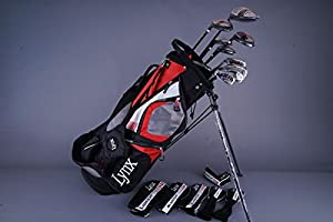 Amazon.com : Lynx Black Cat Mens Complete Golf Club Set - Right Handed : Sports & Outdoors