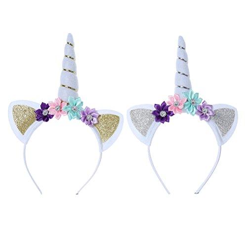 TOYMYTOY Serre tete licorne avec des oreilles fournitures de décoration Cosplay Party