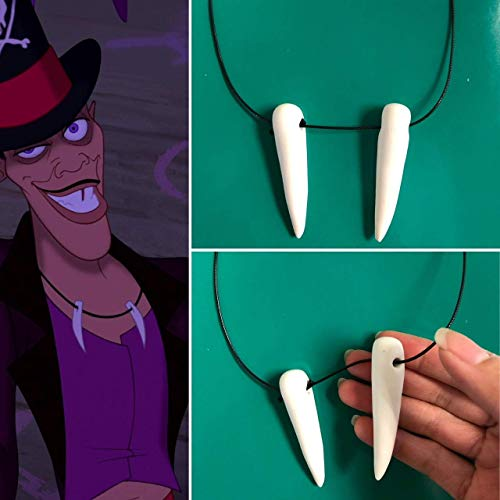 Dr. Facilier inspired Necklace, Dr. Facilier Costume, Dr. Facilier Cosplay, princess and the frog Dr. Facilier, Villain Costume, Disneybound]()