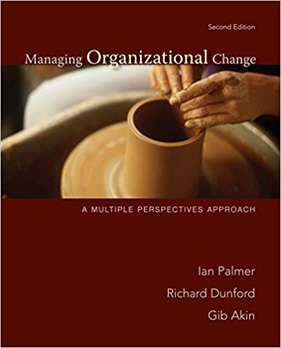 Managing Organizational Change A Multiple Perspectives Approach Ebook