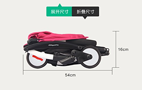 foldable aluminum Luxury baby landscape stroller 3 in 1 ,prams stroller travel and pushchairs by vory (Image #4)