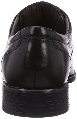 Marc Shoes 1.038.04-02/100-San Marino Herren Derby Schnürhalbschuhe Schwarz (Black 100)