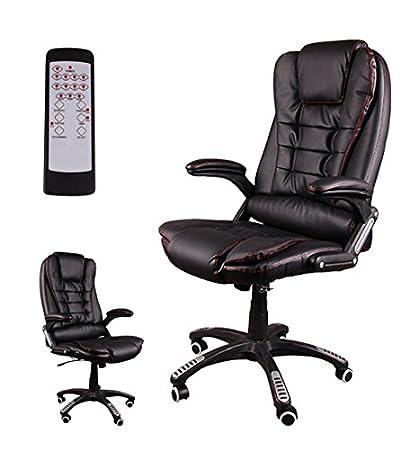 Poltrona ufficio reclinabile for Poltrona massaggiante amazon