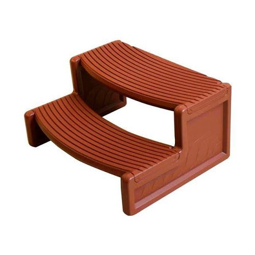 QCA Spas HS2 Handi Spa Step, 29 by 14-Inch, Red Wood