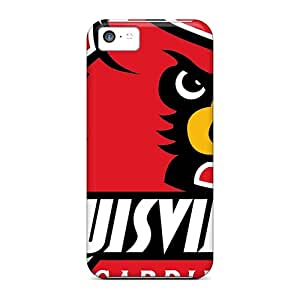 LUO58061StjG Snap On Cases Covers Skin For Iphone 5c(uofl Cards)