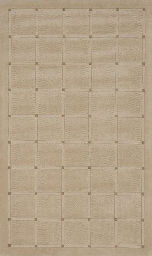 - Momeni Rugs METROMT-19OAT80B0 Metro Collection, 100% Wool Hand Loomed Contemporary Area Rug, 8' x 11', Oatmeal
