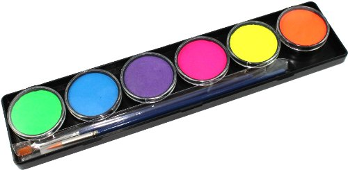 TAG Face Paint 6 Color Palette - Neon (10g)
