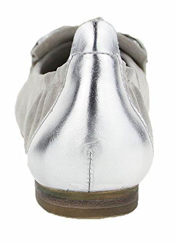 grau grau Donna 22 JULIENNE Ballerine Grigio grigio RqwHwZ5