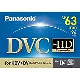 Panasonic AY-DVM63HD MiniDV Cassette (63 Minute)