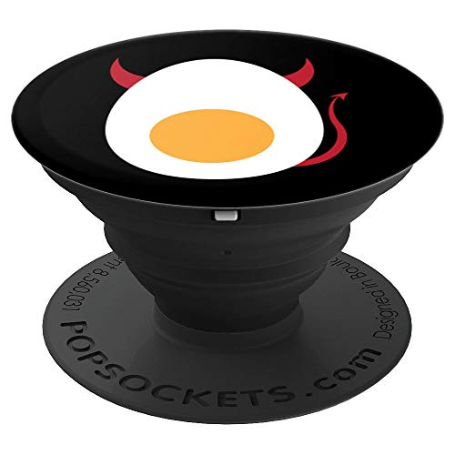 Deviled Egg Halloween Art | Cool Boiled Egg Funny Gift - PopSockets Grip and Stand for Phones and -