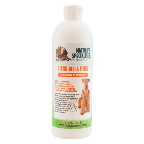 Citrus Plus Shampoo - Nature's Specialties Citru-Mela Plus Pet Shampoo, 16-Ounce