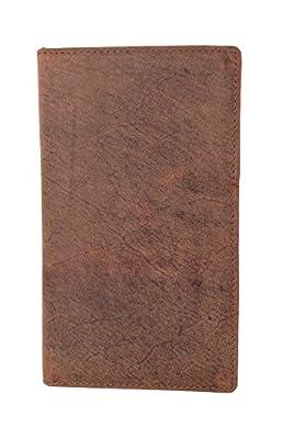 Bifold Hunter Genuine Leather RFID Blocking Wallet Credit/Debit Cards, Money & More