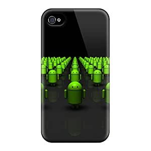 AnnetteL DnKluGt6808XznOk Protective Case For Iphone 4/4s(droid Army)