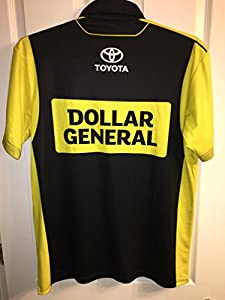 Medium Matt Kenseth Dollar General NASCAR Pit Crew Shirt JGR TOYOTA Gibbs Jersey Not Race Used
