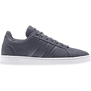 adidas Men's Grand Court Sneaker, Onix/Legend Ink, 8 M US