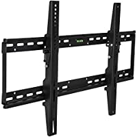 Mount-It! MI-1121L TV Wall Mount Bracket for Flat Screen 37, 40, 42, 45, 50, 55, 60 and 65 Plasma LED LCD TV VESA 200200,400200,400400,600400,800400, Black
