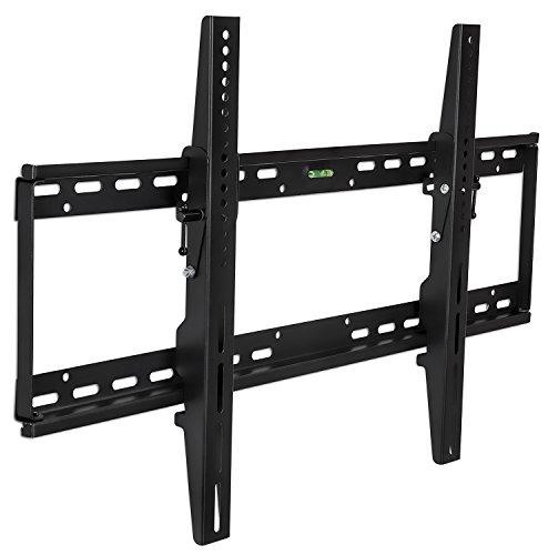 "Mount-It! MI-1121L TV Wall Mount Bracket for Flat Screen 37"", 40"", 42"", 45"", 50"", 55"", 60"" and 65"" Plasma LED LCD TV VESA 200×200,400×200,400×400,600×400,800×400, Black"