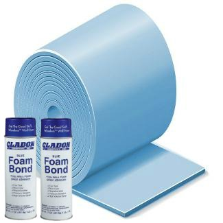 (Gladon 24 Foot Round Above Ground Premium Pool Wall Foam Kit)