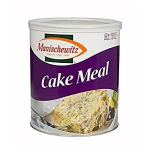 Manischewitz Cake Meal Non GMO Kosher For Passover 16 Oz. Pk of 3.