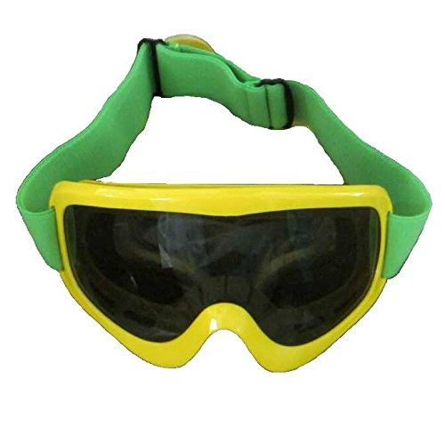 Jamaican Bobsled -Team Yellow Goggles Kühles Kostüm Film Ski-Schnee- Winter- Runnings (Mehrfarbig)