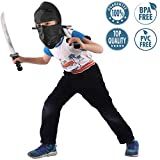 Liberty Imports Ninja Warrior Weapons Playset with