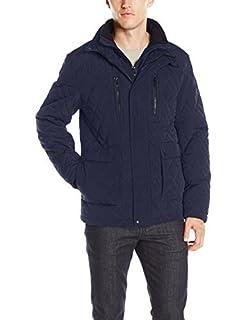 Calvin Klein Men's Quilted Barn Jacket, Midnight, X-Large (B01FUQUUU8) | Amazon price tracker / tracking, Amazon price history charts, Amazon price watches, Amazon price drop alerts