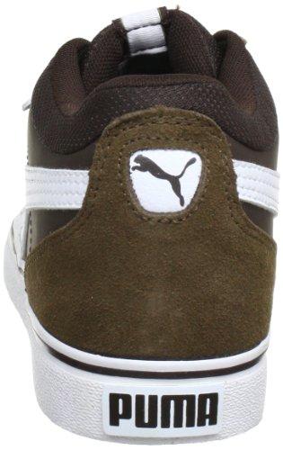 Puma Skate Vulc - Zapatillas Braun (demitasse brown-white 07) (Braun (demitasse brown-white 07))