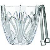 Marquis by Waterford Brookside Ice Bucket, Clear