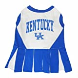 Kentucky Wildcats Dog Cheer Leading Dress & Leash Set Size SM