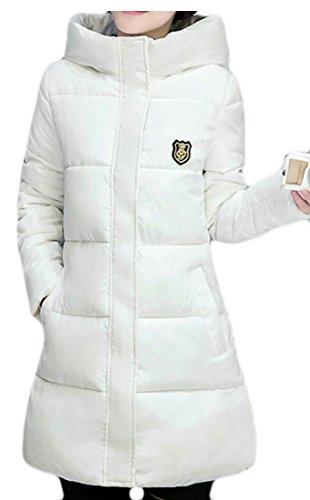 M amp;W Coat Outwear Parka Overcoat Women's White Jacket Coat Long Down amp;S Rr4qSwR