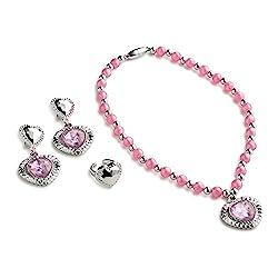 Pink Princess Jewelry Set for Girls