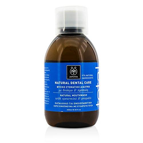 APIVITA NATURAL DENTAL CARE Natural Mouthwash with propolis & spearmint 250ml