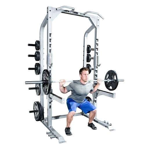 J-Hook Adjustable Bar Champion Half Rack by Athletic Connection