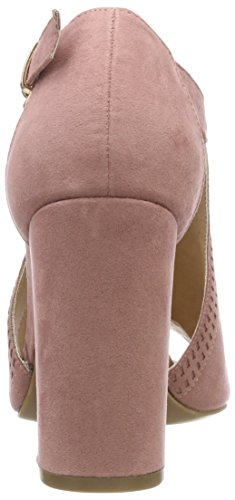 Aperta Pink col 70 Pink Light Punta Pap New Tacco Scarpe Look Donna vwnqgZ