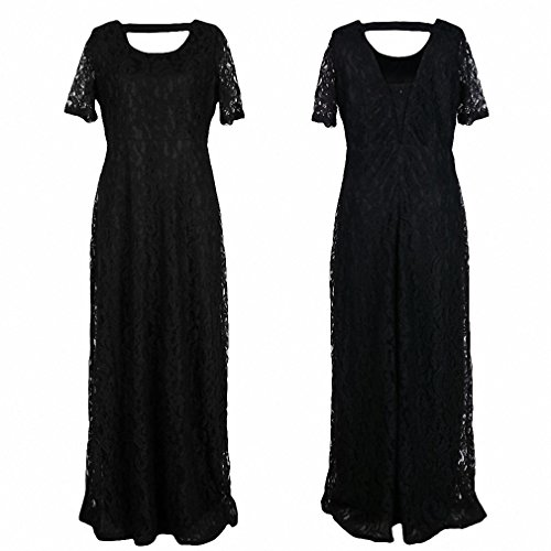 Buy french atmosphere black dress - 3